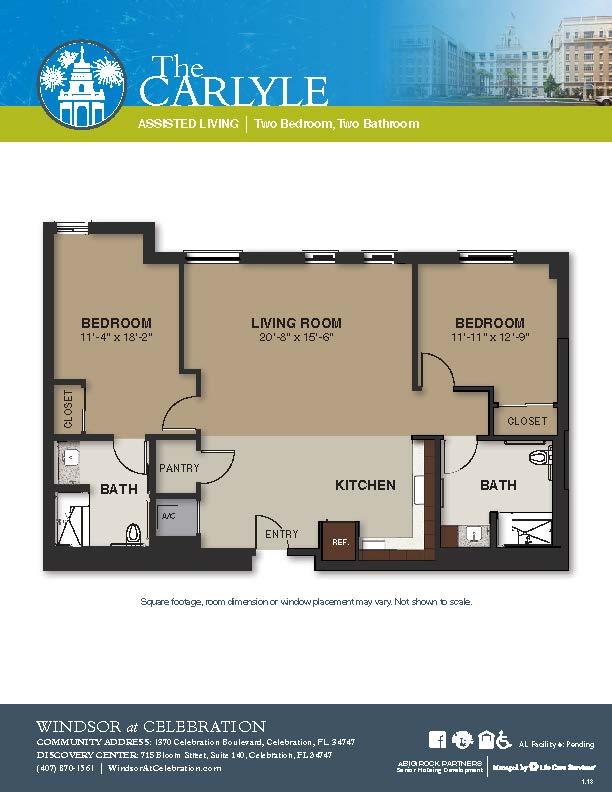 Senior Living Floor Plans Pricing – Senior Independent Living Floor Plans